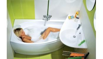 Преимущества акриловых ванн RAVAK
