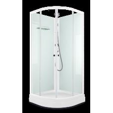 Душевая кабина DOMANI-Spa Eco 99 белая (стекла прозрачные) 90x90