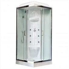 Душевая кабина Royal Bath RB90HP7-WT-CH 90х90 (белое/прозрачное)