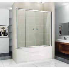 Шторка на ванну Cezares Pratico VF2 150 стекло прозрачное