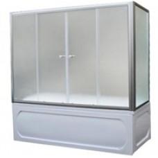 Шторка на ванну 1MarKa 150 (хром)