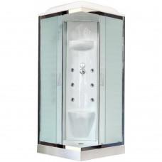 Душевая кабина Royal Bath RB90HP7-WC-CH 90х90 (белое/матовое)