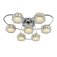 Люстра Геометрия 1-1695-7-CR Y LED