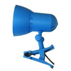 Настольная лампа Модерн Надежда 1- мини на клипсе синяя лазурь