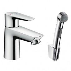Смеситель для раковины с гигиеническим душем Hansgrohe Talis E 71729000