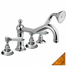 Смеситель Nicolazzi Classica Lusso 1449 GB 78 на борт ванны