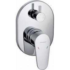 Смеситель Bravat Eler FB848238CP-3-RUS для ванны с душем