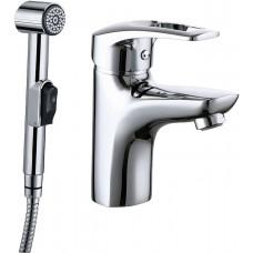 Смеситель Iddis Carlow Plus CRPSB00i08 для раковины с гигиеническим душем