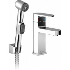 Смеситель Ravak Chrome CR 112.00 для раковины с гигиеническим душем