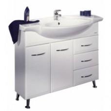 Мебель для ванной АКВАТОН Эмили 100 (белый) 320-1