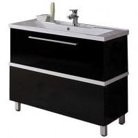 Мебель для ванной АКВАТОН Турин 100 (черный) 1A121701TU950