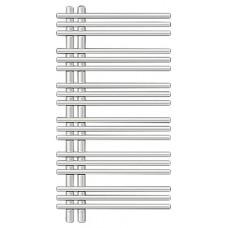 Полотенцесушитель электрический Zehnder Yucca asymmetric (YAER-090-50/RD) правый