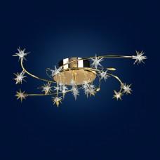 Комплект Люстра+Бра Геометрия 0-6072-12-FG-LED Y G4