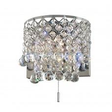 Бра Диамант 3-2521-2-CR-LED G4