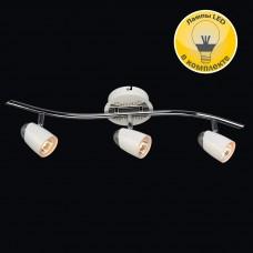 Спот Модерн 6-5060-3+10-CR+WH GU10 LED