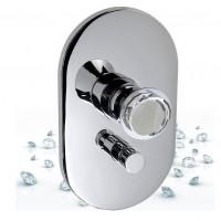 Встраиваемый смеситель для ванны и душа MAIER Muse Diamond