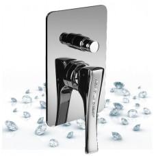 Смеситель встраиваемый для ванны и душа MAIER Skip Diamond