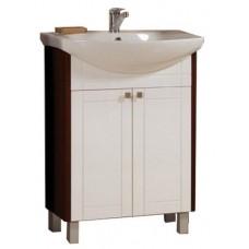 Мебель для ванной Акватон Альпина 65 (белый/венге)