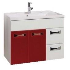 Мебель для ванной АКВАТОН Диор 80 (бело/бордовый) 1A167801DR940