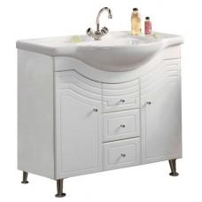Мебель для ванной АКВАТОН Домус 95 (белый) 1A061301DO010