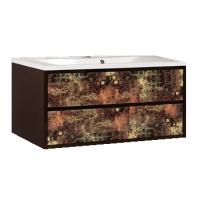 Мебель для ванной АКВАТОН Римини 100 (янтарь) 1A134501RNS20