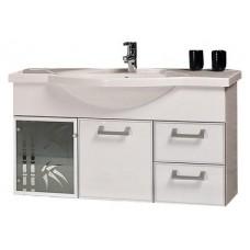 Мебель для ванной АКВАТОН Сайгон 110 (белый) 1A106001SA010