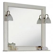 Зеркало АКВАТОН Жерона 105 (белое золото) 1A158802GEM40