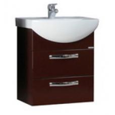 Мебель для ванной АКВАТОН Ария 50 М (темно-коричневый) 1400-1.103