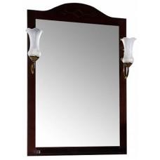 Зеркало АСБ Мебель Флоренция Квадро 60 (бук тироль)