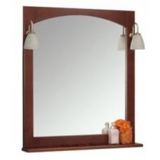 Зеркало со светильниками Roca America 85 орех (ZRU9302793)