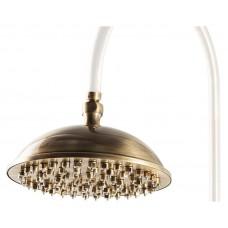 Верхний душ Caprigo Lux 99-102-vot (23 см) бронза