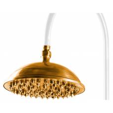 Верхний душ Caprigo Lux 99-102-oro (23 см) золото