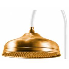 Верхний душ Caprigo 99-101-oro (30 см) золото